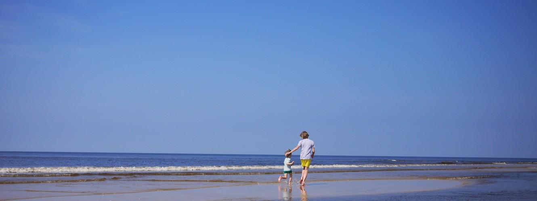 Herrliche Tage am Strand